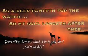As a dear panteth