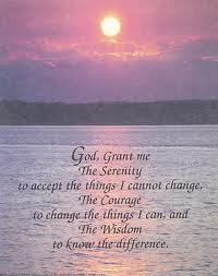 grant me the serenity...