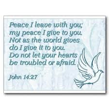 my peace i give you John 14.27