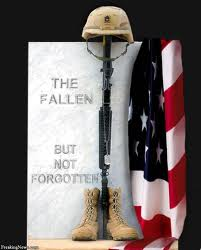 Memorial Day - the fallen but not forgotten