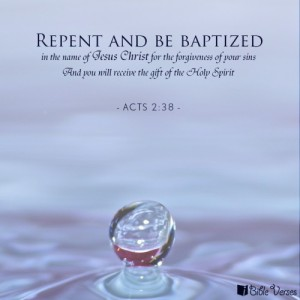 repent and be baptized